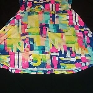 Nicki Minaj Dresses - Nicki Minaj colorful skater dress